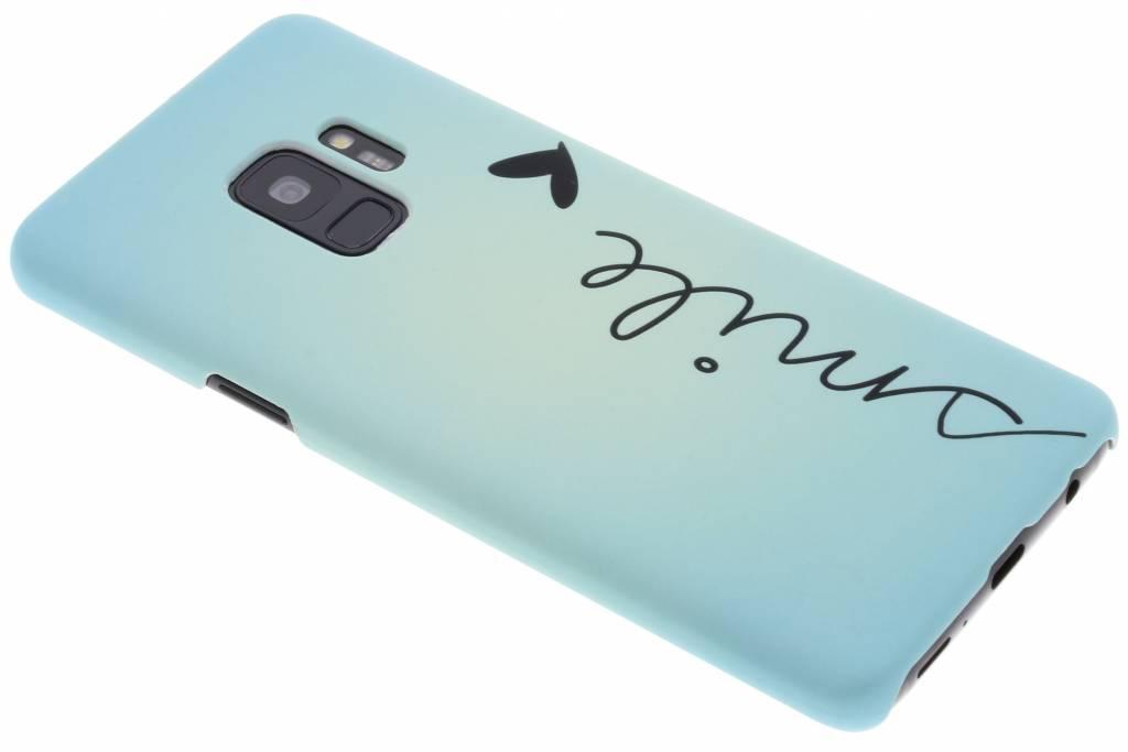 Smile design hardcase hoesje voor de Samsung Galaxy S9