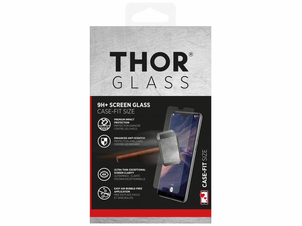 9H+ Case-Fit Glass Screen Protector voor de Samsung Galaxy A8 (2018)