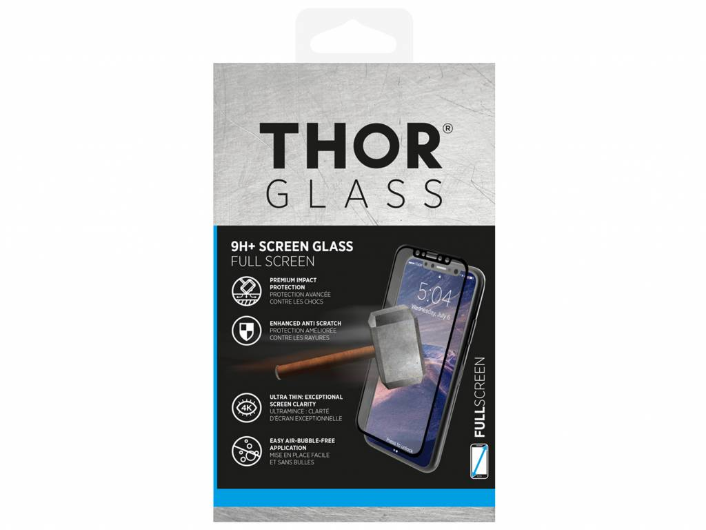 9H+ Full Screen Glass Protector voor de Samsung Galaxy A8 (2018)