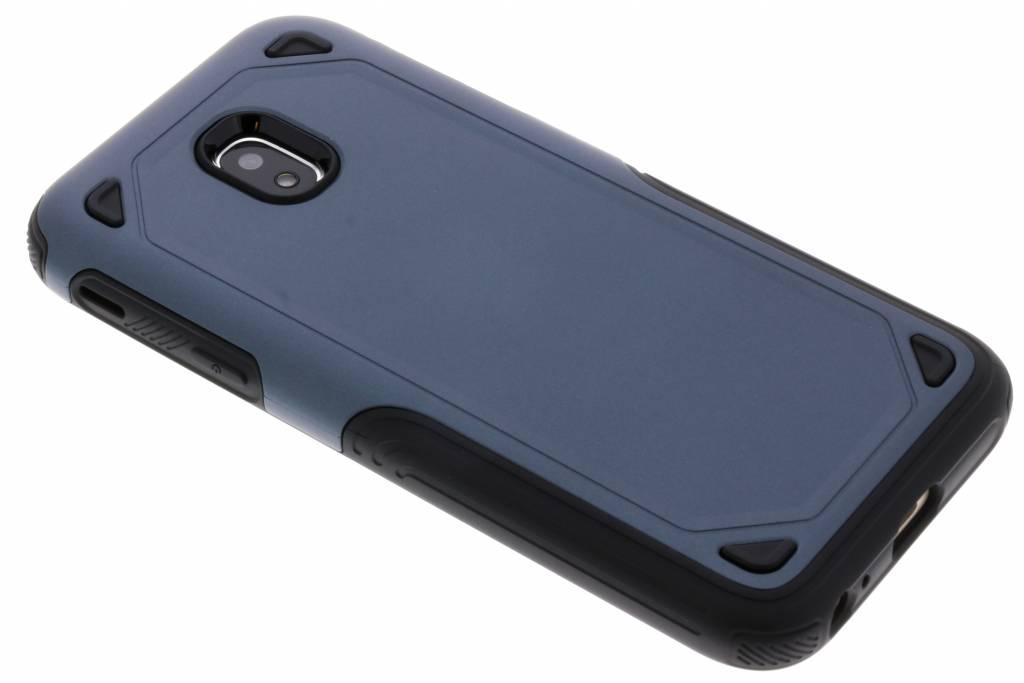 Blauw Rugged hardcase hoesje voor de Samsung Galaxy J3 (2017)