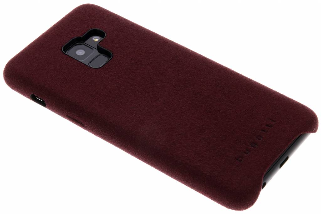 Rode Porto Ultrasuede® Snap Case voor de Samsung Galaxy A8 (2018)