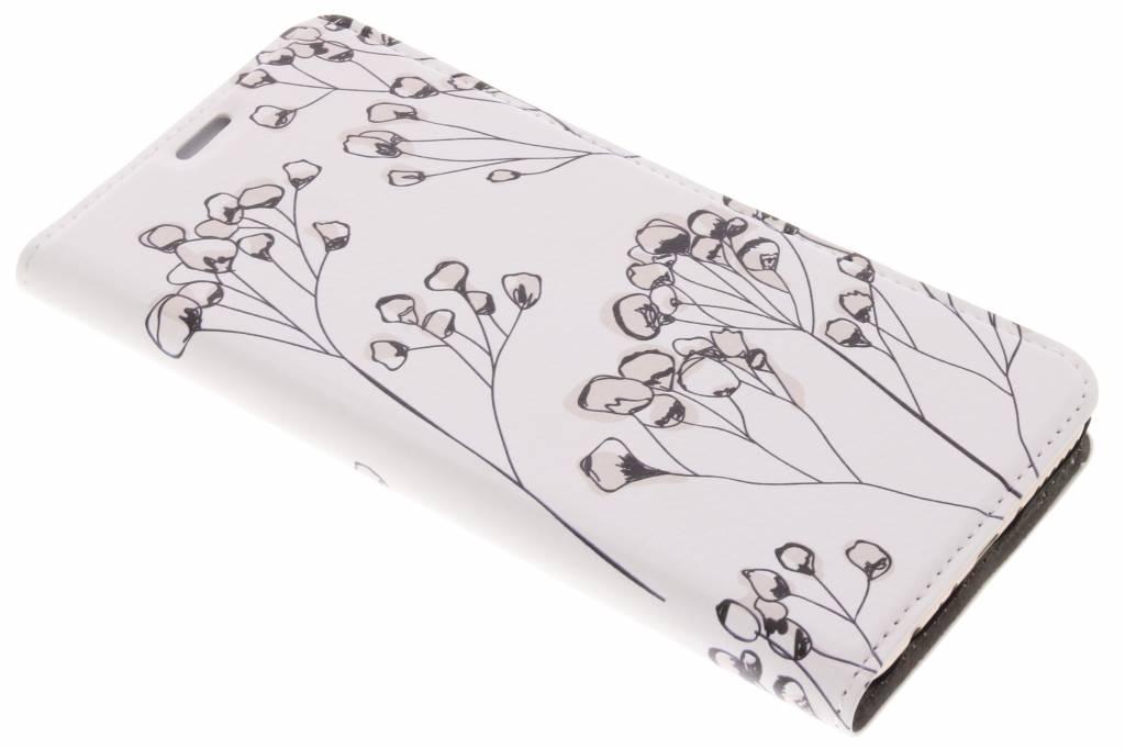 Bloemen Design Booklet voor de Huawei Mate 10 Lite