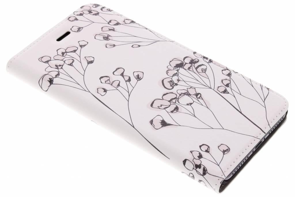 Bloemen Design Booklet voor de iPhone 8 Plus / 7 Plus
