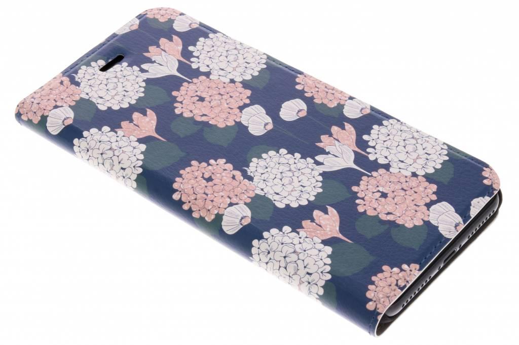 Bloemen pastel Design Booklet voor de iPhone 8 Plus / 7 Plus