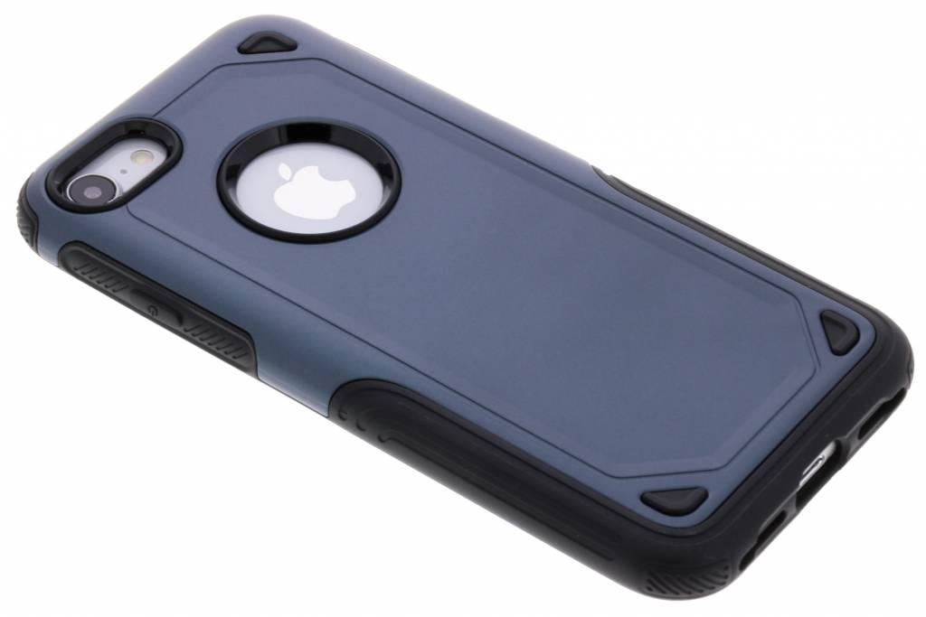 Blauw Rugged hardcase hoesje voor de iPhone 8 / 7