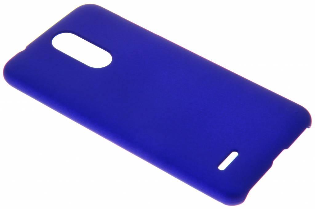 Blauw effen hardcase hoesje voor de LG K11
