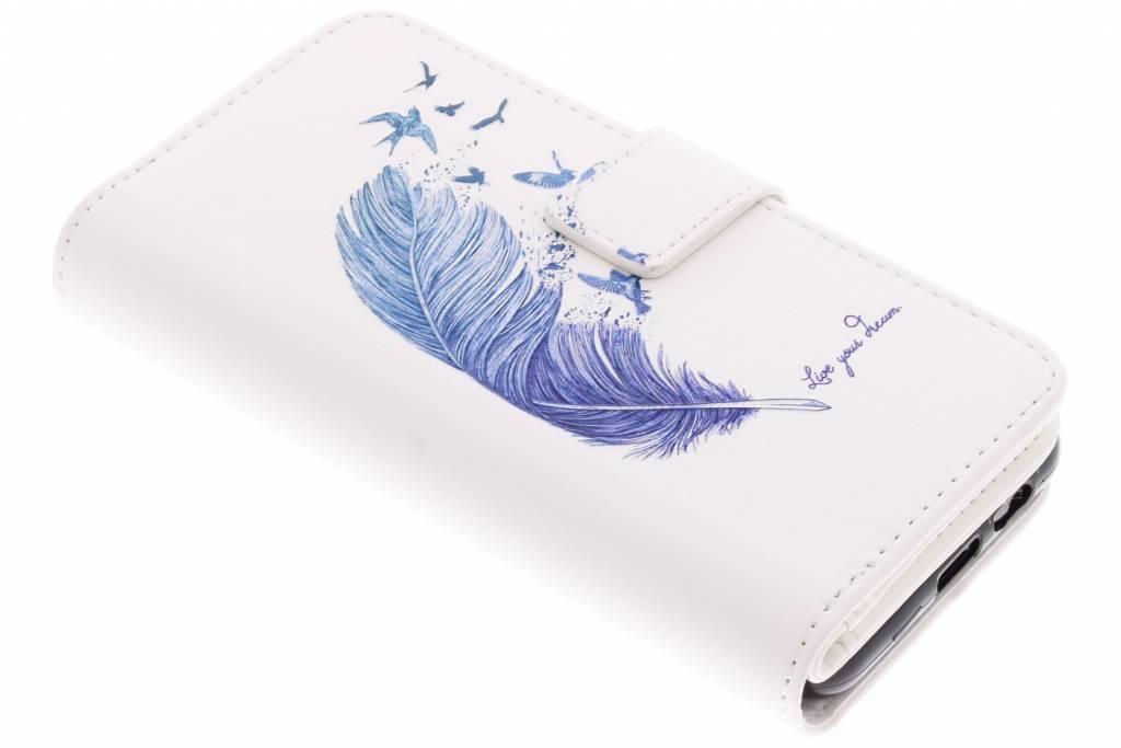 Veer design TPU portemonnee voor de Samsung Galaxy A8 (2018)