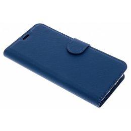 Type De Livre Bleu Saffiano Cas Pour Samsung Galaxy S9 giwrSl
