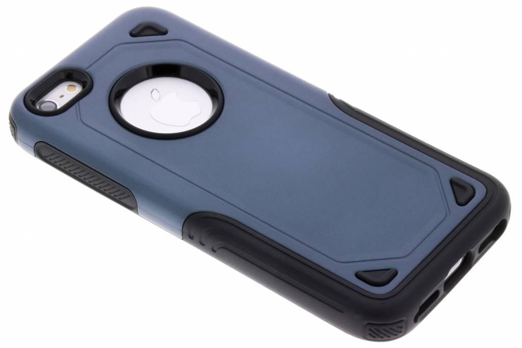 Blauw Rugged hardcase hoesje voor de iPhone 5 / 5s / SE
