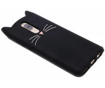 Zwart Kat TPU hoesje Huawei Mate 10 Lite