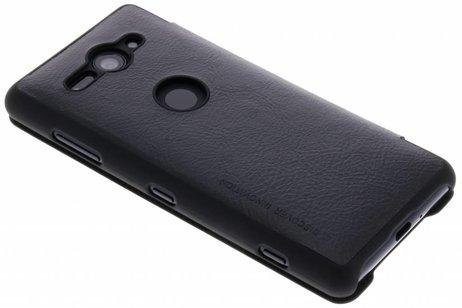 Qin Type De Livre En Cuir Noir Intelligent Pour Sony Xperia Xz2 Compact XyaZbUvUFM