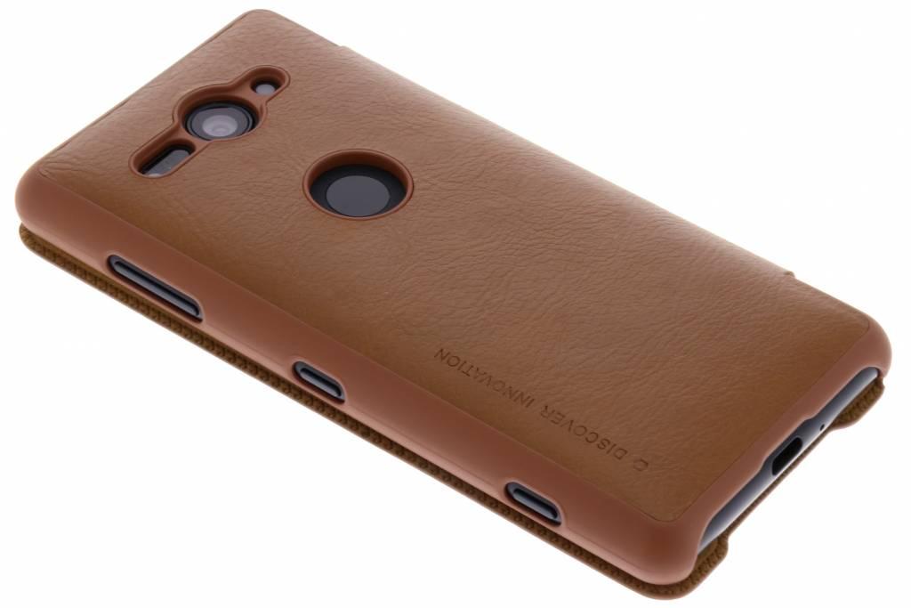 Type Intelligent Pour Huawei P20 Lite Livre En Cuir Brun Qin llYUimQXFg