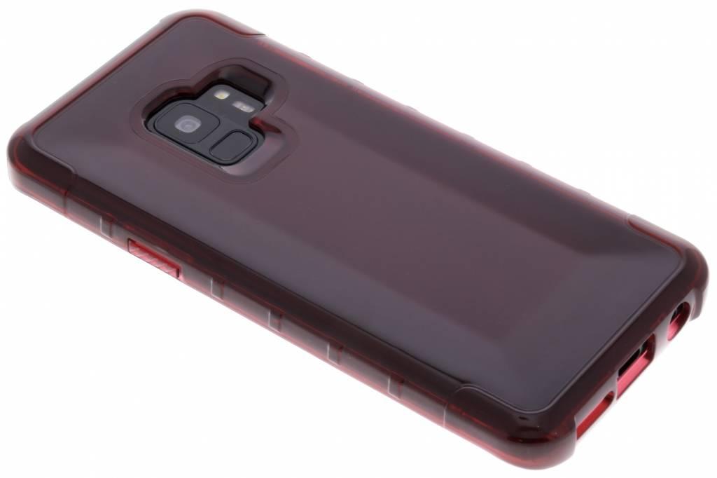 Rouge Plyo Étui Rigide Pour Samsung Galaxy S, Plus S9