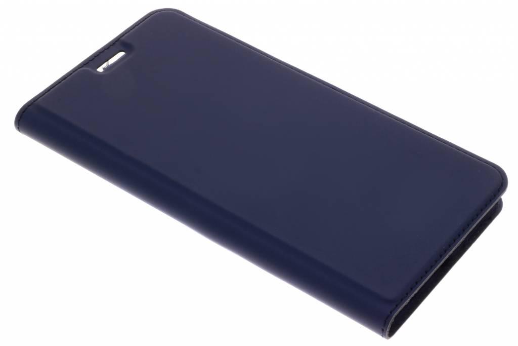 Dux Ducis Blauwe Slim TPU Booklet voor de Huawei Y9 (2018)