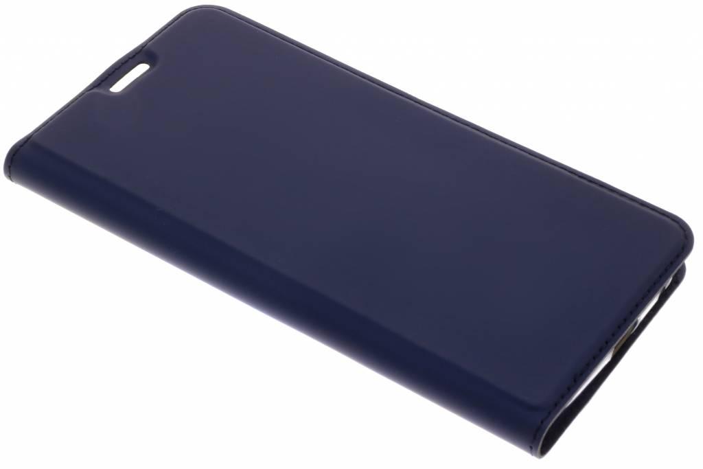 Dux Ducis Blauwe Slim TPU Booklet voor de Motorola Moto G6 Plus