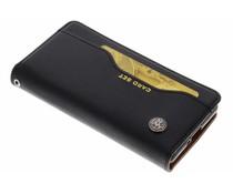 Zwart Card set booktype hoes Sony Xperia XZ2 Compact