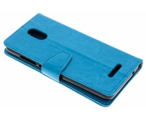 Turquoise Zakelijke Booklet Wiko Jerry 3