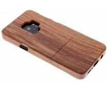 Echt houten hardcase hoesje Samsung Galaxy S9