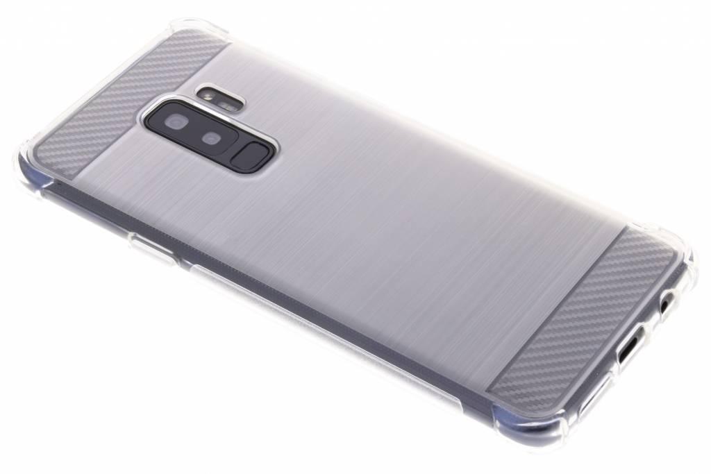 Transparant Xtreme siliconen hoesje voor de Samsung Galaxy S9 Plus