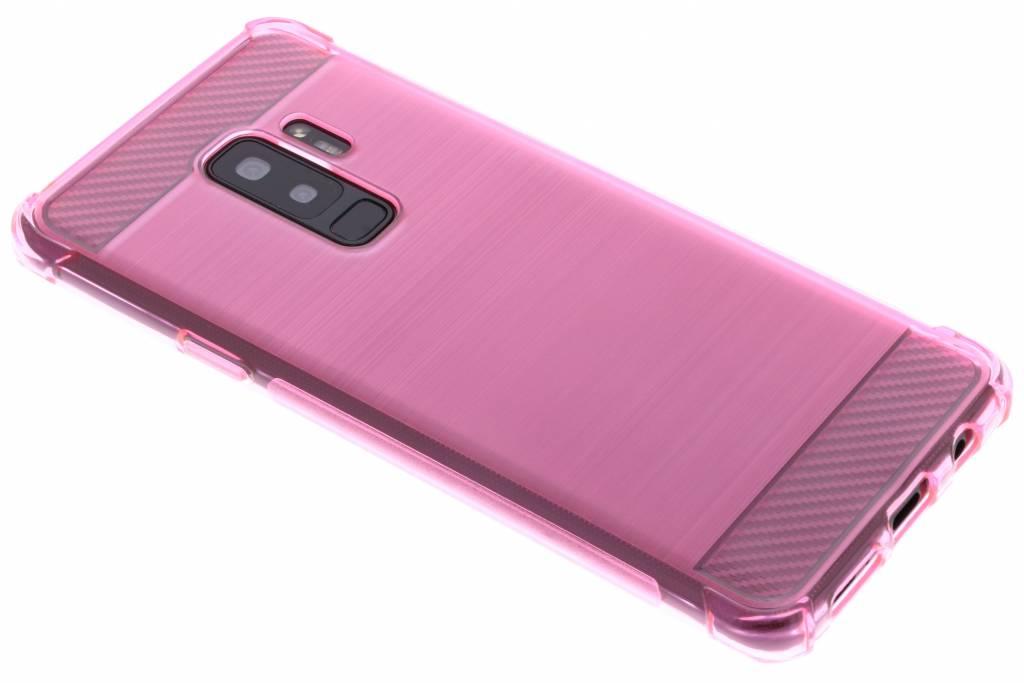 Roze Xtreme siliconen hoesje voor de Samsung Galaxy S9 Plus