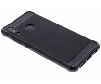 Zwart Xtreme siliconen hoesje Huawei P20 Lite