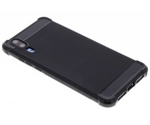 Zwart Xtreme siliconen hoesje Huawei P20