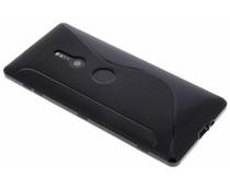 Zwart S-line TPU hoesje Sony Xperia XZ2