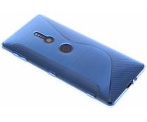 Blauw S-line TPU hoesje Sony Xperia XZ2