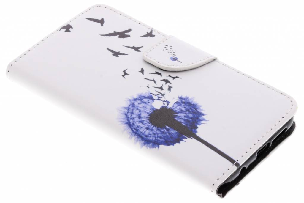 Paardenbloem design TPU booktype hoes voor de Huawei P20 Lite