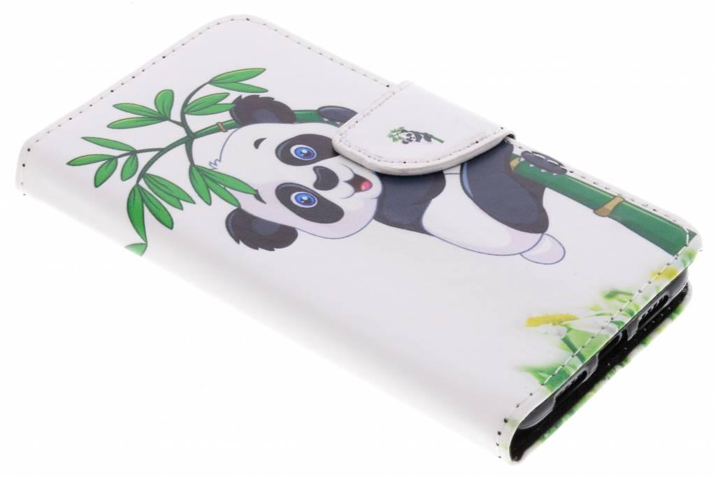 Panda in boom design TPU booktype hoes voor de Huawei P20