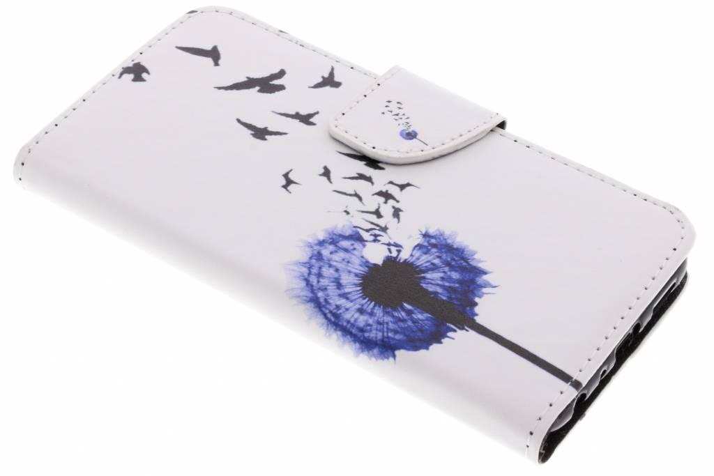Paardenbloem design TPU booktype hoes voor de Huawei P Smart