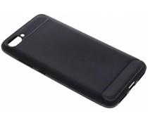 Zwart Brushed TPU case Asus ZenFone 4 Max Plus