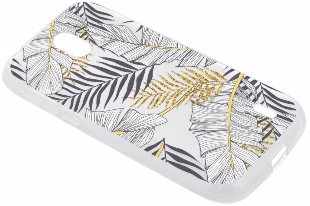 Botanic design siliconen hoesje voor de Nokia 1