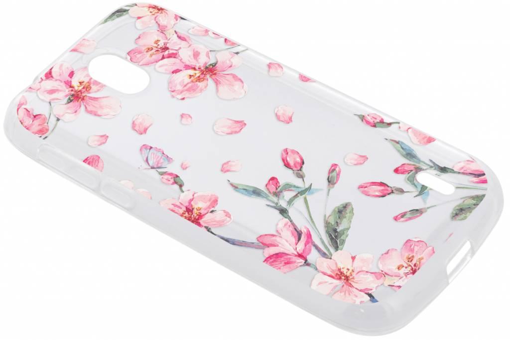 Bloesem Watercolor TPU hoesje voor de Nokia 1