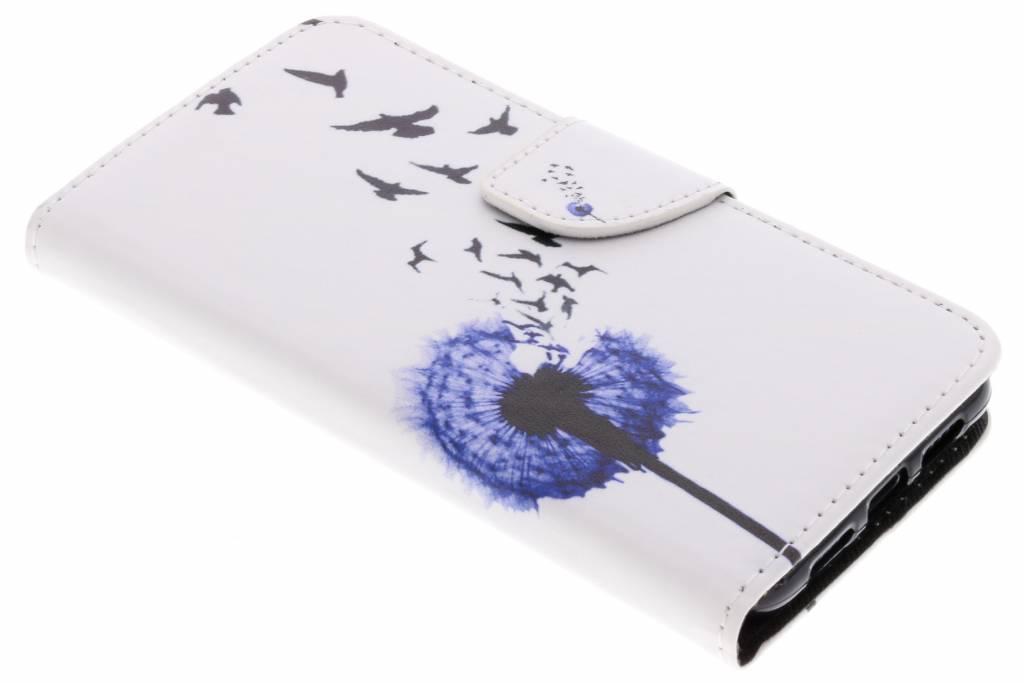 Paardenbloem design TPU booktype hoes voor de Huawei P20