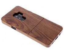 Echt houten hardcase hoesje Samsung Galaxy S9 Plus