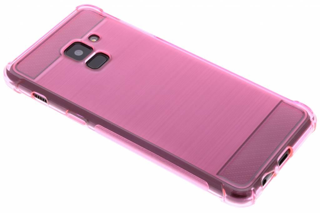 Roze Xtreme siliconen hoesje voor de Samsung Galaxy A8 (2018)