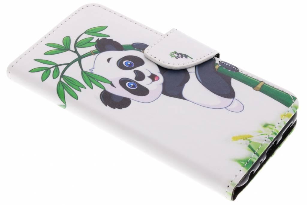 Panda in boom design TPU booktype hoes voor de Huawei P Smart