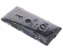 Quote design TPU hoesje Sony Xperia XZ2