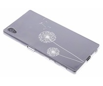 Transparant festival TPU hoesje Sony Xperia Z5