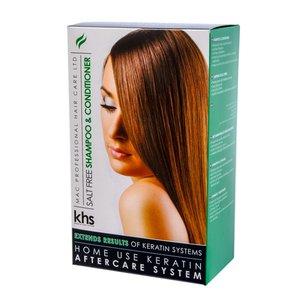 KHS Shampooing et après-shampooing sans sel 2 x 200 ml