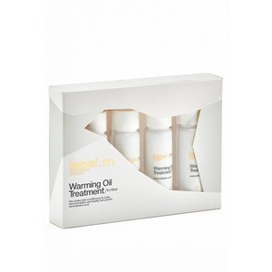 Label.M Warming Oil Treatment, 4 x 15ml