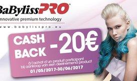 Cashback Babyliss Pro 2017
