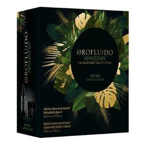 Orofluido Amazonia Gift Set, Repairing Balm + Body Cream
