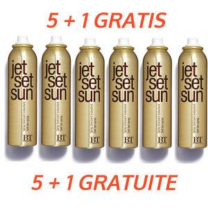 Jet Set Sun 5 + 1 Gratuit Immédiat Bronzer Autobronzant Mist