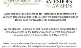 Haarboetiek genomineerd