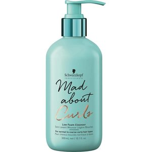 Schwarzkopf Mad About Curls  Curls Low Foam Cleanser 300ml