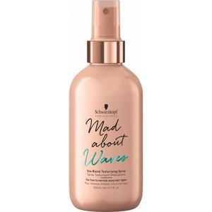 Schwarzkopf Mad About Waves Sea Blend Texturizing Spray 200ml
