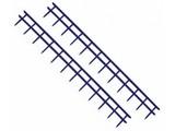 Peignes Velobind, 12 picots, 25 x 297 mm, bleu marine