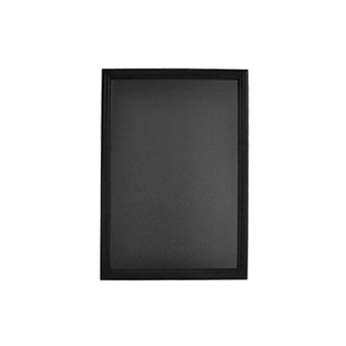Tableau pour crire la craie noir lxh 40x60 cm reliure plastification for Ecrire sur un tableau noir